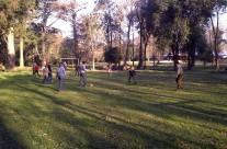 Partie de foot à La Dulce